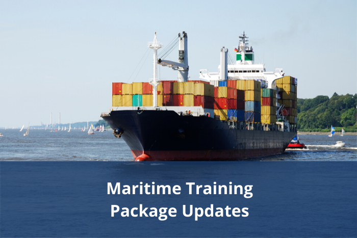 Maritime Training Package Updates – Final draft materials available