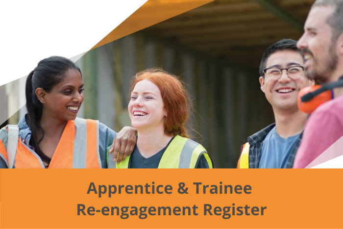 Apprentice and trainee re-engagement register