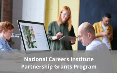 National Careers Institute – Partnership Grant applications now open