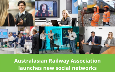 The Australasian Railway Association launches 2 new social networks for women and young professionals
