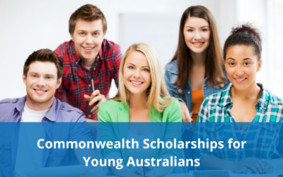 Commonwealth Scholarships for Young Australians – Round 2 applications open