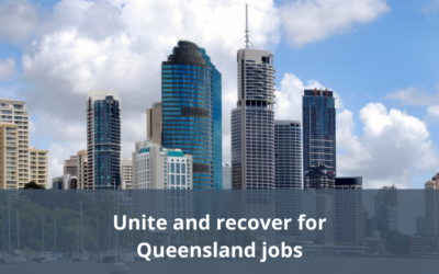 The Queensland economic recovery strategy