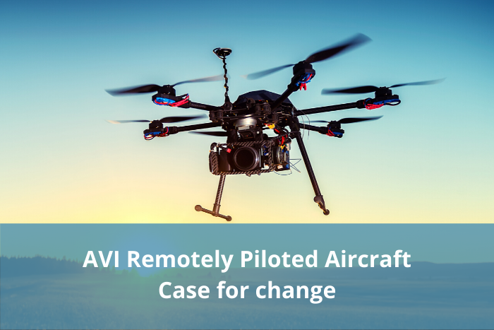 AVI Remotely Piloted Aircraft case for change