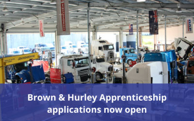 Brown & Hurley – applications open for 2021 apprenticeships