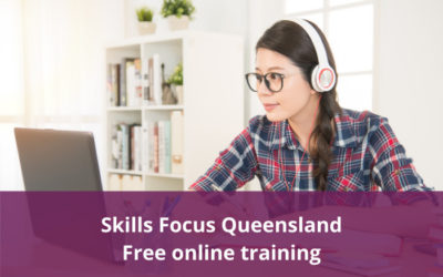Free online training for COVID-19 impacted QLD workers