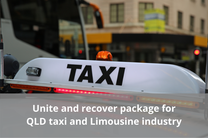 Unite and recover for taxis and limousines