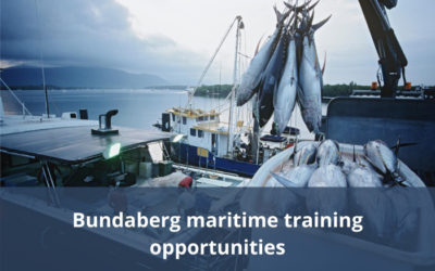 New maritime training opportunities in Bundaberg