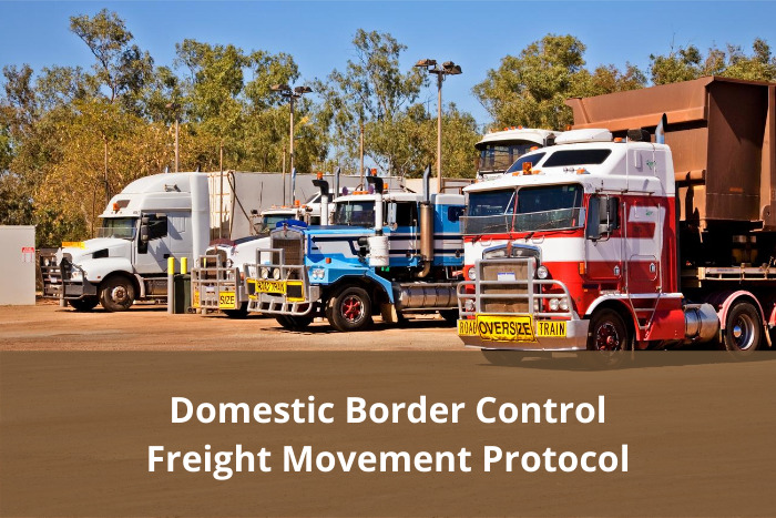 Domestic Border Control Freight Movement