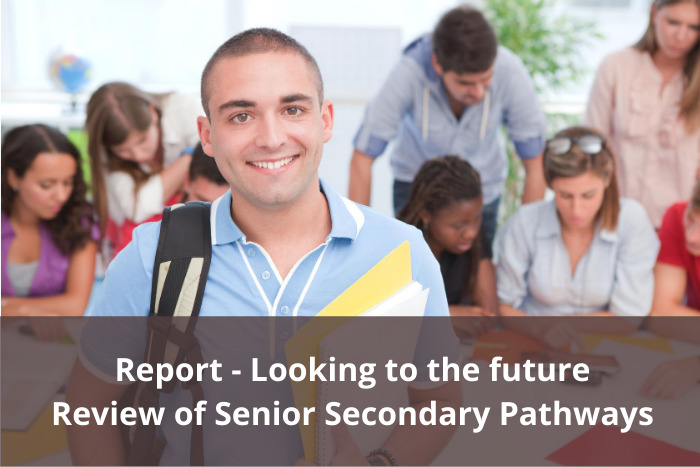 Looking to the future report