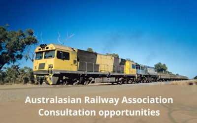Australasian Railway Association – Consultations to shape the future of industry
