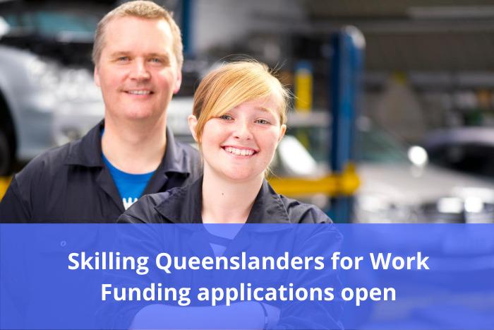 Skilling Queenslanders for Work applications open