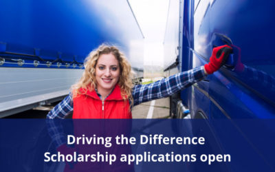 Driving the Difference Scholarship Program – Applications open