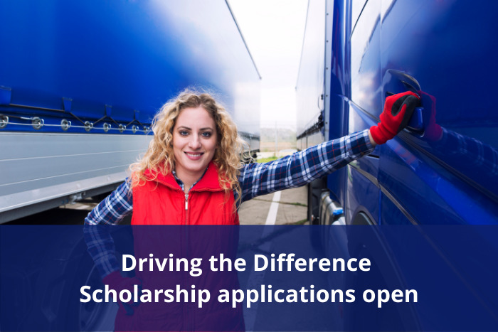 Driving the Difference scholarship applications open