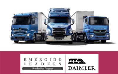 QTA/Daimler Emerging Leaders Scholarship Program – applications open