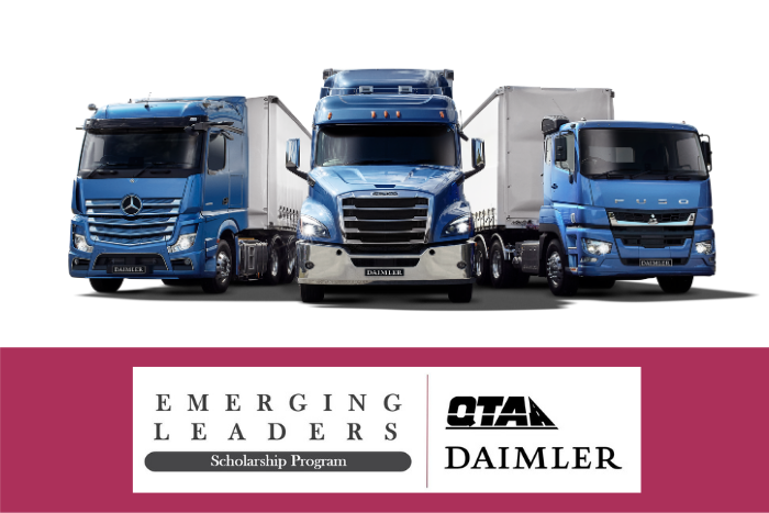QTA/Daimler Emerging Leaders Scholarship Program – applications open