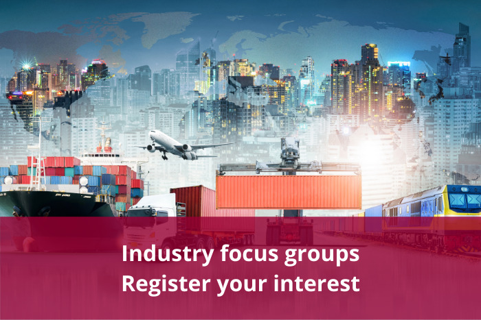Industry focus groups - Registration