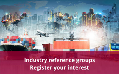 Register to join an industry reference group