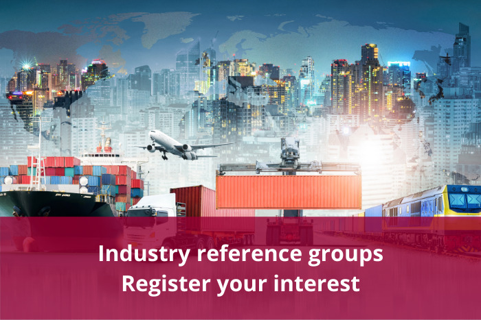 Industry reference groups - Registration
