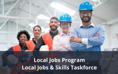 Local Jobs Program – Join a local taskforce