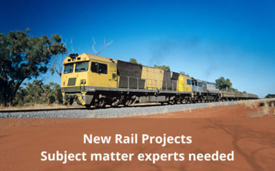 New Rail Projects – Join the Technical Advisory Committee