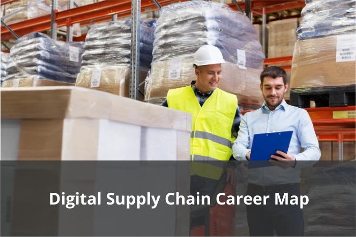 Digital supply chain career map
