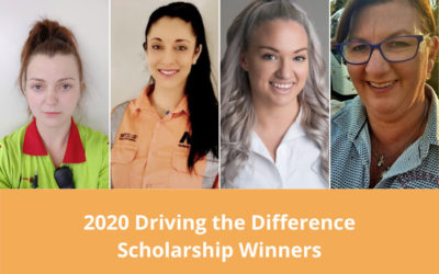 Winners of the 2020 Driving the Difference Scholarships have been announced