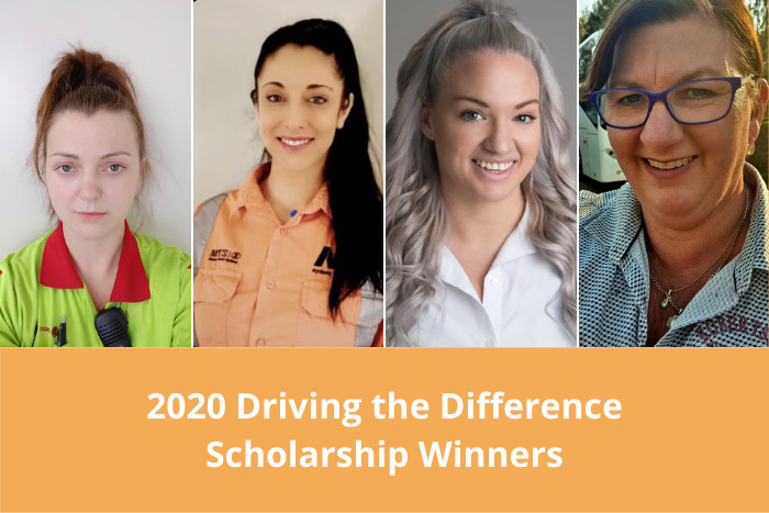 2020 Driving the Difference Scholarship winners