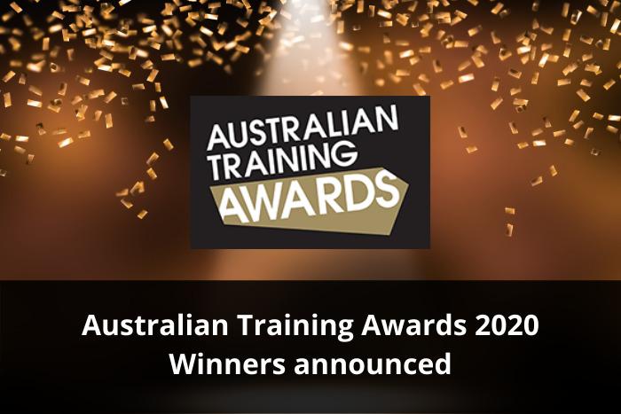 Australian Training Awards 2020 Winners