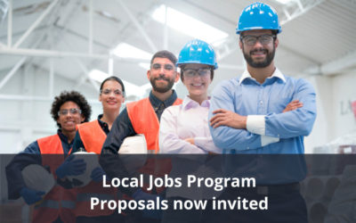Activity proposals now invited for round 1 funding of the Local Jobs Program.