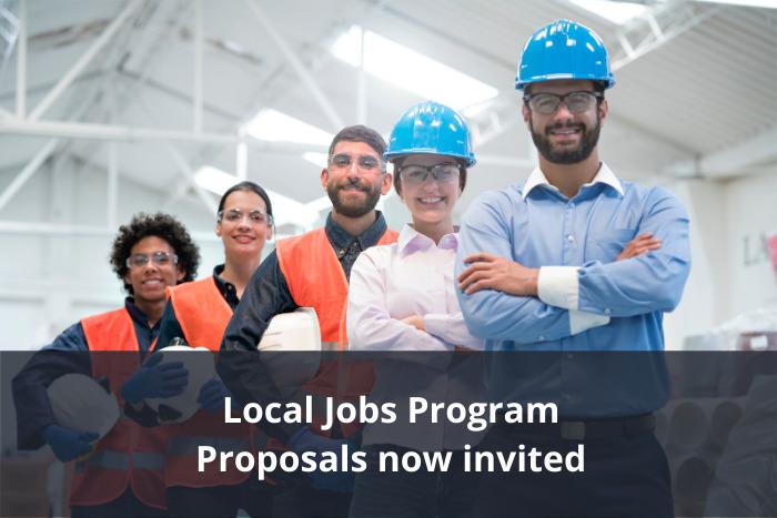 Local Jobs Program - Round 1 funding