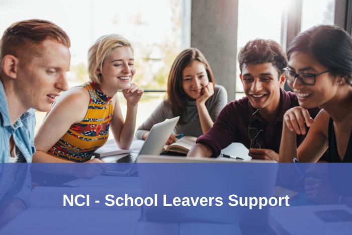 NCI School leavers support