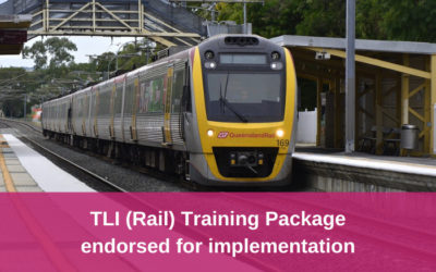 TLI (Rail) Training Package Release 7.0, approved materials now available