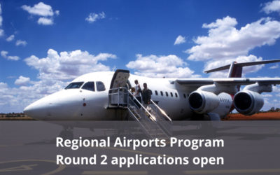 Round 2 applications open for the Regional Airports Program