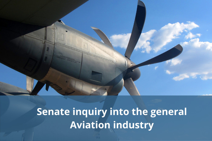 Senate inquiry into the general Aviation industry – accepting submissions