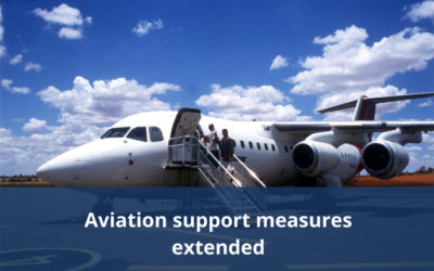 Further support for aviation industry and appointment of expert advisory panel