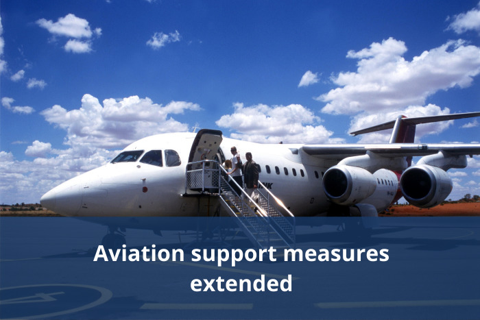 Aviation Support measures extended