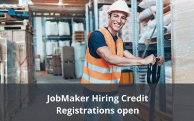 JobMaker Hiring Credit – Registrations open for eligible employers