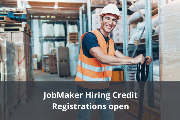 JobMaker Hiring Credit – Registrations open for eligible employers