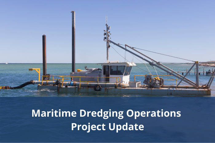 Maritime Dredging Operations – Final draft materials available for comment