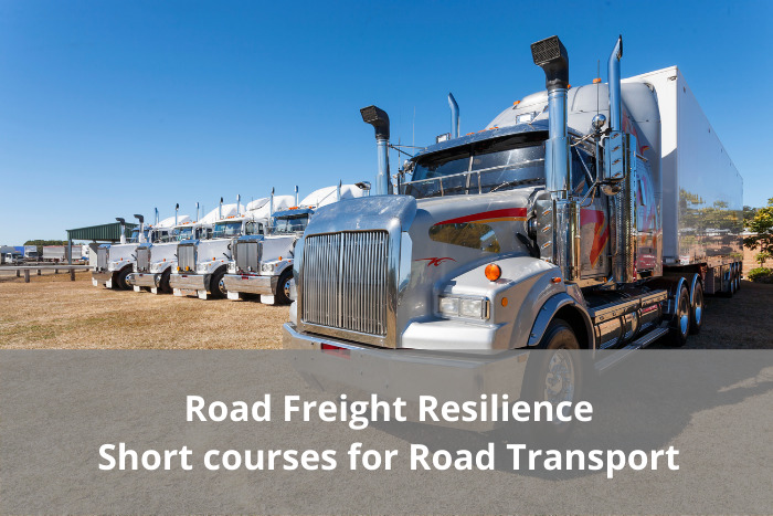 Road Freight Resilience – Short courses for the Road Transport industry