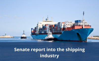 Senate releases report into the shipping industry