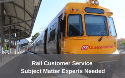 TLI Rail Customer Service Project – Industry experts needed