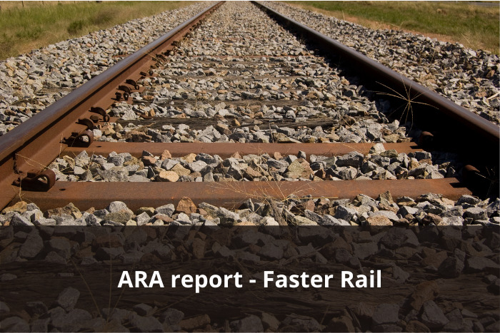 The Australasian Railway Association launches its Faster Rail Report