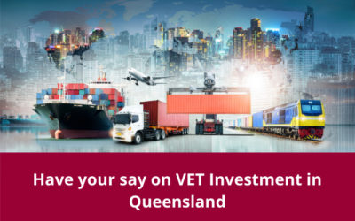 Have your say on VET Investment for Transport and Logistics