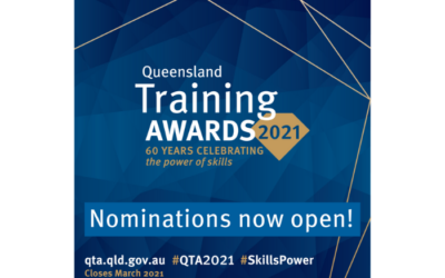 Queensland Training Awards 2021 – Nominations deadline extended