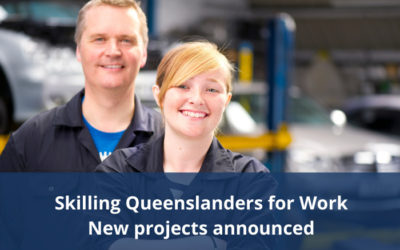 Skilling Queenslanders for Work – Second round funding projects announced