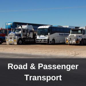 VET Investment - Road & Passenger Transport
