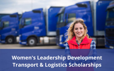 Scholarship funding for women in Transport & Logistics