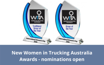 New Women in Trucking Australia Awards – nominations open