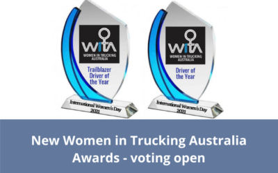 New Women in Trucking Australia Awards – voting open